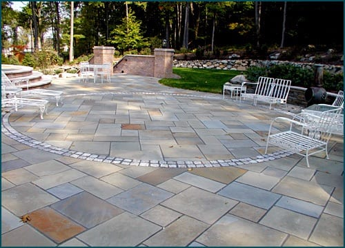 Bluestone full range color bluestone (also called off color) patio 2
