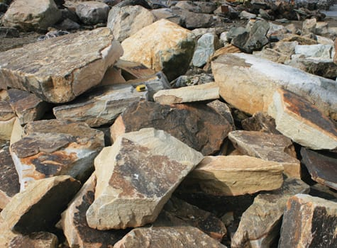 rainbow-chunks-large-wall-stone-picture