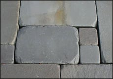 More information about tumbled bluestone walkway and patio stone