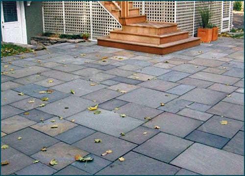 Full range color bluestone