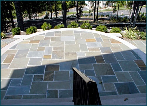 A great example of our full range color bluestone