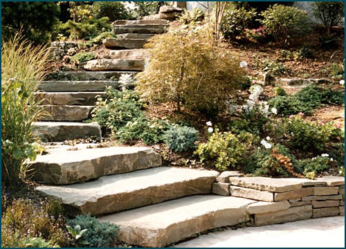 Karney Steps are very natural looking