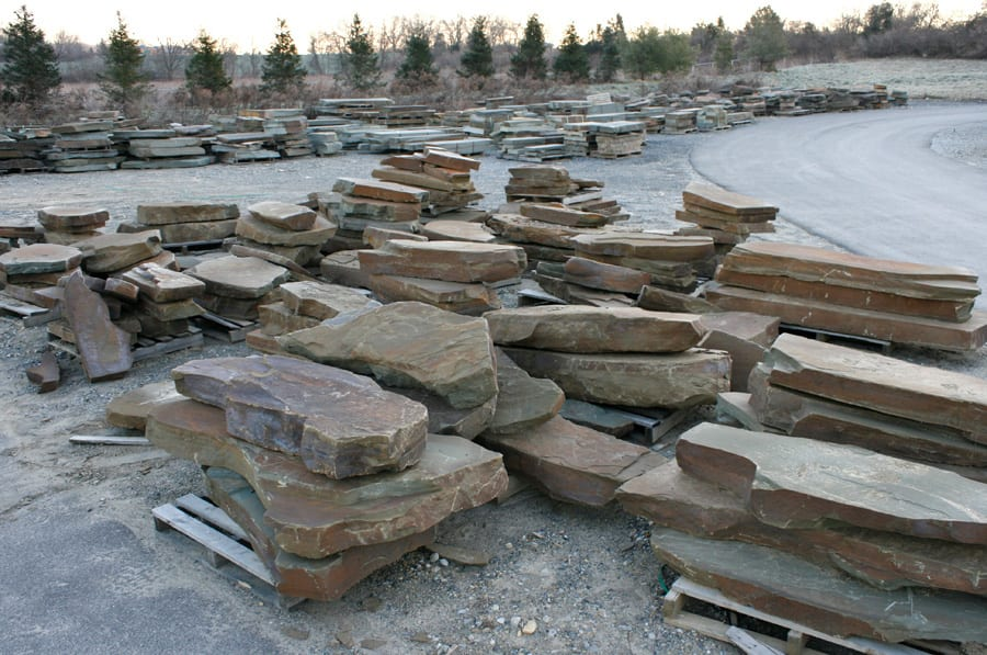 Part of our Karney® stone step inventory