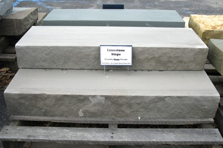 Exceptional Limestone Natural Stone Steps
