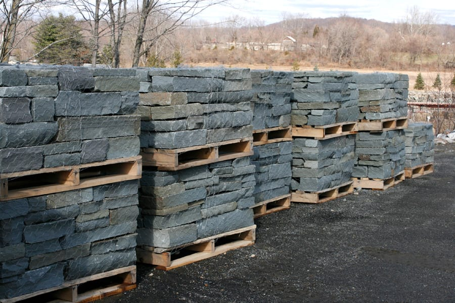 We produce and stock this stone in quantity at our Great Meadows, NJ stone yard
