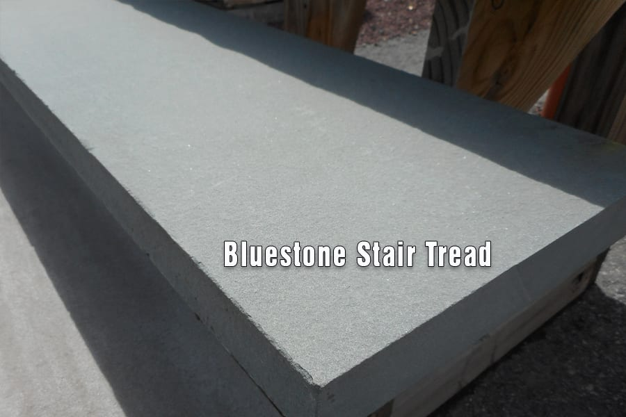 Bluestone Stair Tread Close Up Picture