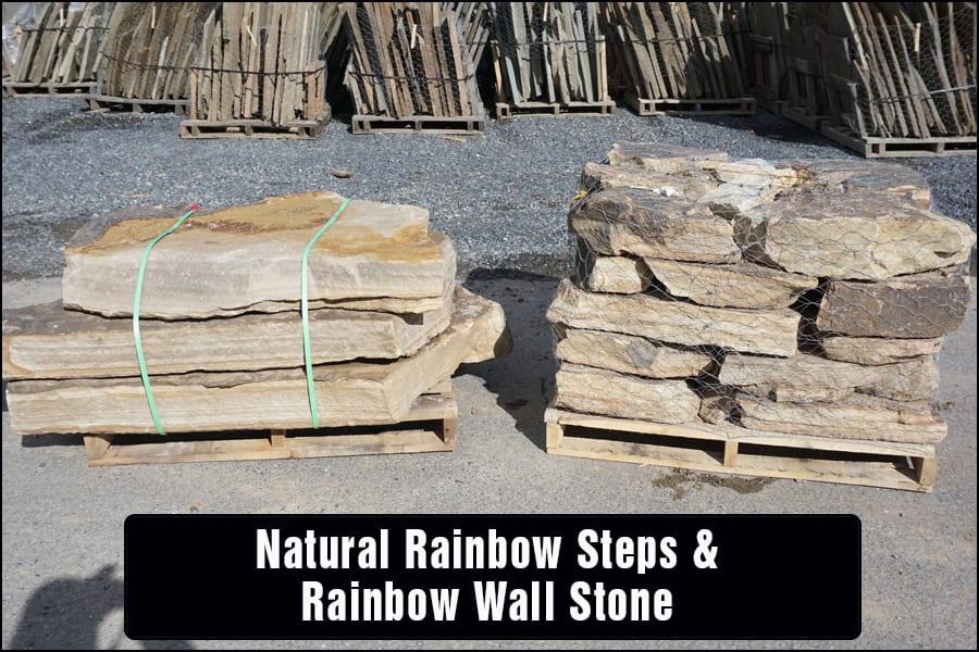 Natural-Rainbow-Steps-Rainbow-Wallstone