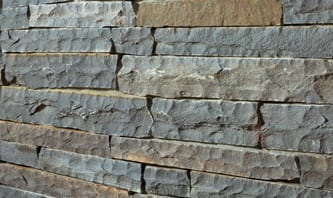 Mountain Gray Castlestone Imported Thin Veneer