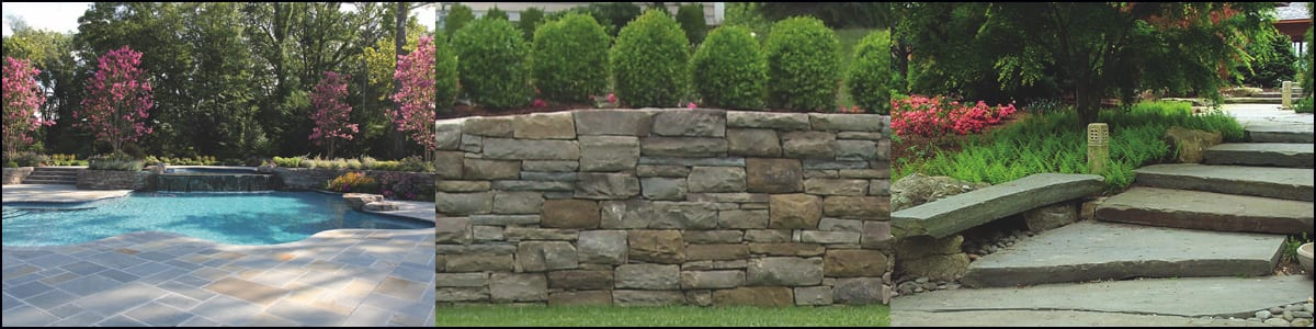 Landscape Stone choices at Wicki Stone NJ's largest natural stone supplier