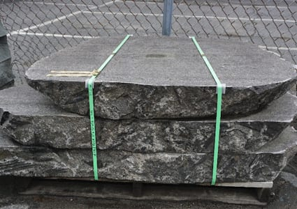 Sawn top aznd bottom nzatural edge Bluestone steps