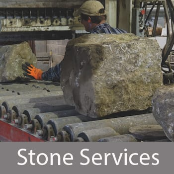 Stone fabrication and customization services