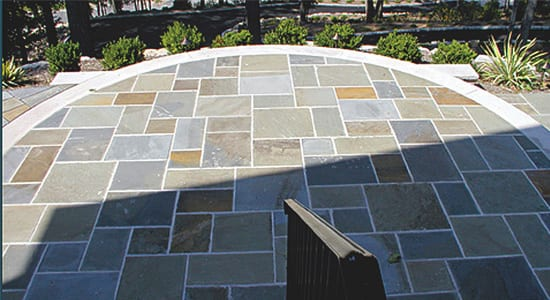 Walkway, Patio and Pool Deck stone choices at Wiicki Stone