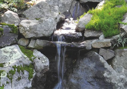 Water Garden Spill Rocs For Waterfalls