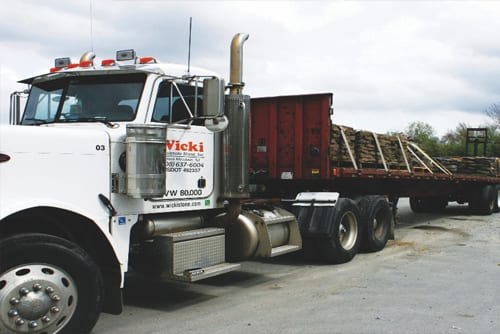 Stone delivery services in New Jersey