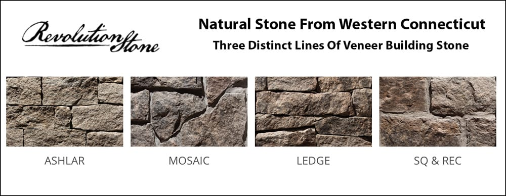 We carry Revolution Stone building stone