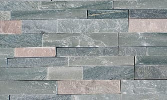 A picture of sierra blue ledgestone thin veneer building stone