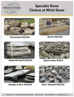 Pictures of Specialty Landscape Stone We Sell