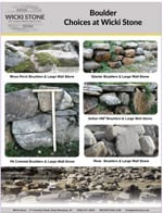 Stone boulders we sell - pdf with pictures