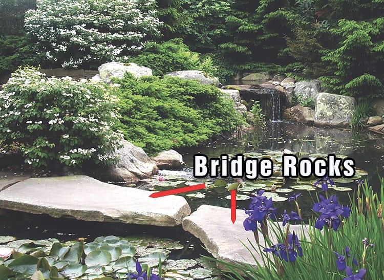 Examples of bridge rocks
