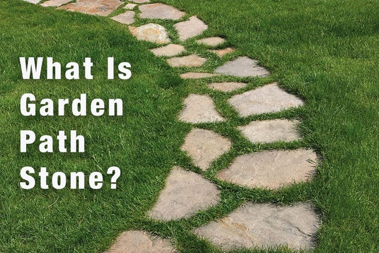Picture and explanation of what garden path stone is