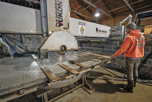 Custom stone cutting services in New Jersey